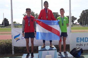 Cinco campeones y once medallas para los concordienses en los Juegos Nacionales Evita