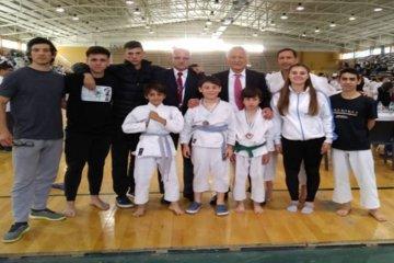 Concordienses lograron tres medallas en el Nacional de Karate