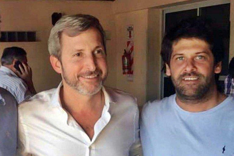 Rogelio Frigerio y Eduardo Caminal (actual Presidente del PRO Entre Ríos)