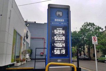 Rige un nuevo aumento en combustibles rozando los $60 en Concordia