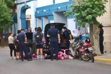 Dos mujeres fueron a realizar un trámite y quedaron detenidas