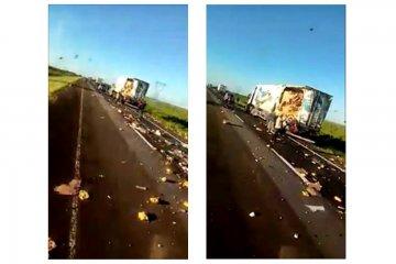 Un vídeo explica como fue el fatal accidente en la Ruta Nacional 14