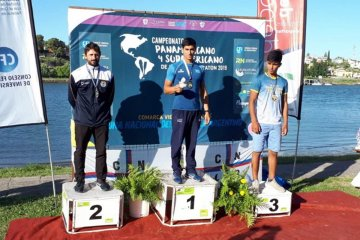 Concordiense se consagró campeón panamericano de Canotaje