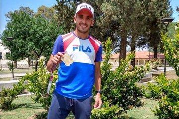 Martín Méndez se subió al podio en San Luis