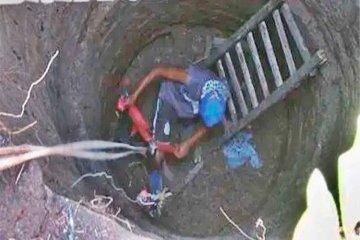 Joven entrerriano quiso salvar a su perro y terminó atrapado en un pozo de 15 metros