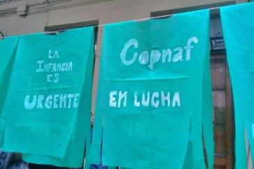 Trabajadores del COPNAF continúan la protesta pero rescatan la conducción del organismo