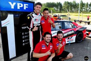 Rossi largará en la punta del Top Race en Concordia