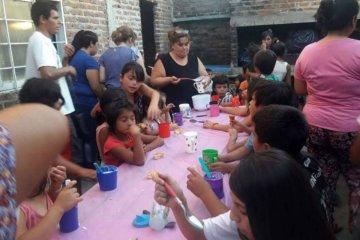 Piden donaciones para un comedor al que asisten más de cien chicos