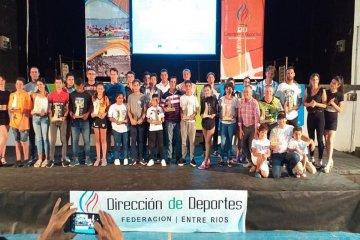 Federación destacó y premió a sus deportistas
