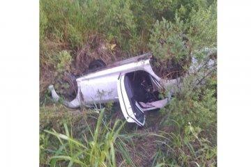 Una diputada provincial terminó lesionada luego de volcar en ruta 14