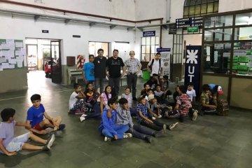 Por el Programa Generación Positiva chicos del barrio el Silencio visitaron la UTN