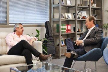 Bordet se reunió nuevamente con Alberto Fernández buscando acordar agenda