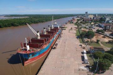 Nueva exportación de madera desde los puertos entrerrianos
