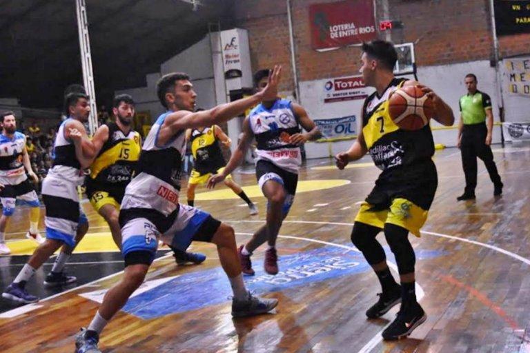 Ferro ganó 80-69 por la novena fecha de la División Entre Ríos del T