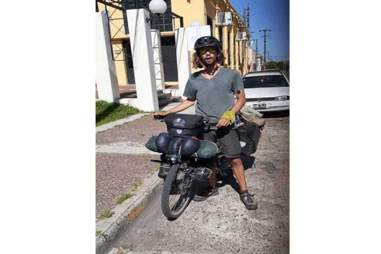 Alexis, el francés aventurero que recaló recientemente en Concordia.