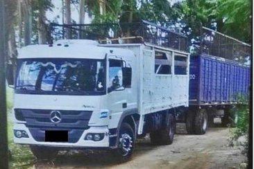 RUTA 18: Se robaron un camión de una estación de servicio y la policía pudo recuperarlo