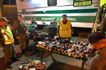 Gendarmería secuestró mercadería por más de 100 mil pesos en el ingreso a Concordia