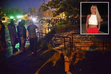 Un auto fue arrastrado por un arroyo y buscan desesperadamente a joven entrerriana