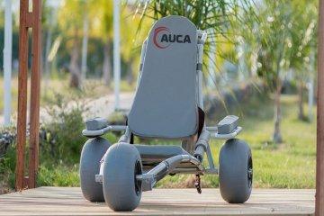 Federación incorporó la primera silla anfibia para ofrecer un verano inclusivo