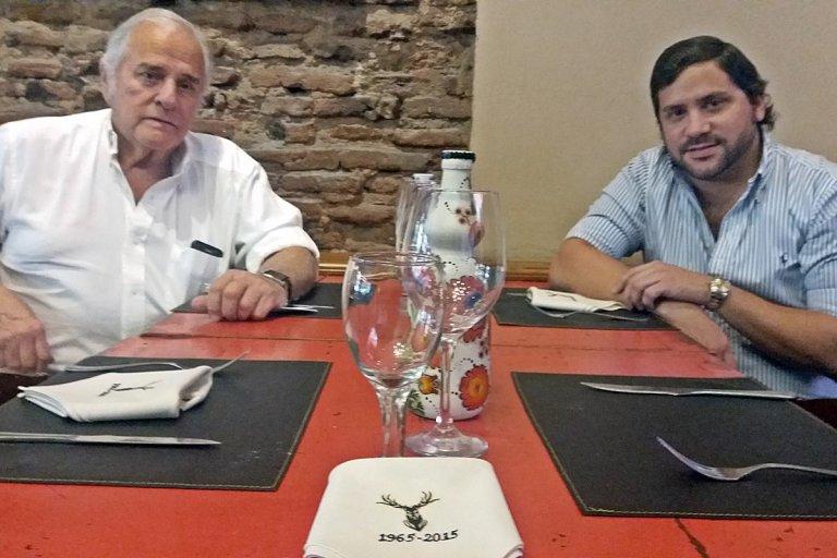 Ignacio y Leandro Lapiduz, historia y presente del restaurant El Ciervo