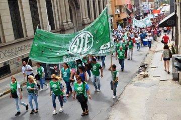 "ATE formalizó el pedido ""urgente"" de apertura de la paritaria provincial"