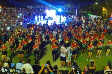 Con un gran marco de público presentaron el Carnaval 2020