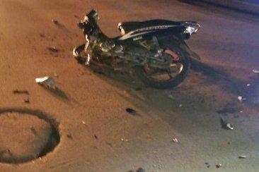 Gravísimo accidente en avenida San Lorenzo