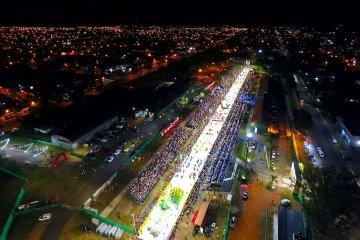 Con un corsódromo casi completo arrancó la primera noche del carnaval de Concordia