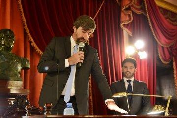Giano fue ratificado como presidente de la Cámara de Diputados