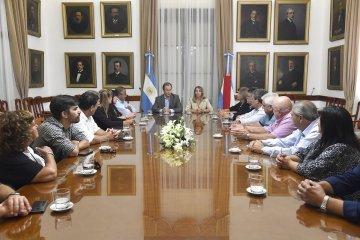 La CGT respaldó la política salarial del gobierno entrerriano