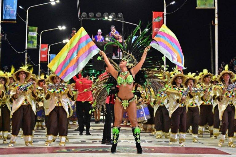 Todo listo para vivir el cierre del carnaval 2020 en Concordia.