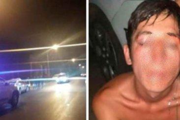 Vecinos golpearon a un hombre que había robado el celular a una joven
