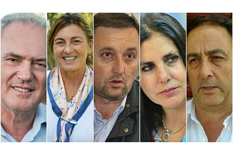 Benedetti, Fregonse, Hein, Lena y Lacoste