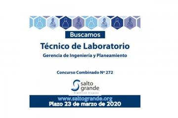 Salto Grande incorporará nuevo profesional para su laboratorio ambiental
