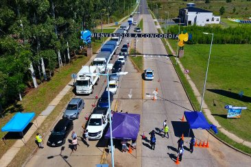 Municipios del departamento respaldaron a Concordia en la polémica de los accesos