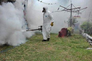 Continúan las tareas de desinfección en barrios y espacios públicos