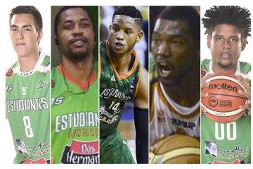 Los jugadores que formarían el mejor quinteto histórico de Estudiantes Concordia