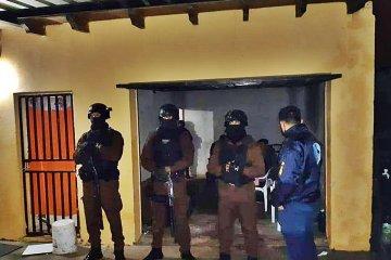 Por infracción a ley de Estupefacientes se realizaron tres allanamientos en Concordia