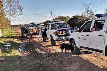 La brigada Abigeato secuestró armas y más de 40 kilos de carne provenientes de la faena clandestina