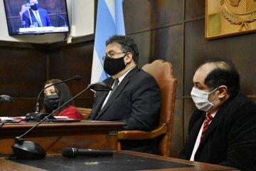 Francolini habló ante concejales oficialistas y opositores ponderando el ejemplo de Fernández, Kicillof y Larreta