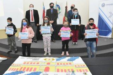 Niños de Concordia expresaron su sentimiento patriótico a través de dibujos, collages, videos e ilustraciones