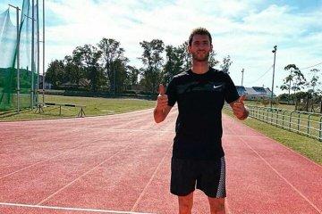 """""""En Concordia tenemos todo lo que necesitamos para entrenar"""", dijo un doble atleta olímpico"""