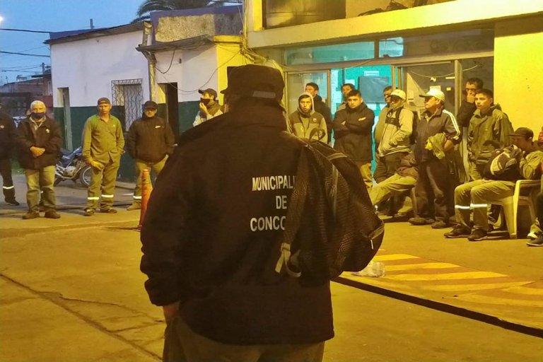 48 horas de medidas de fuerza, por la agresión a un empleado municipal.