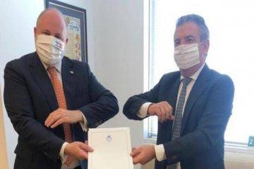 Urribarri inició su actividad diplomática en Israel para fortalecer la relación bilateral