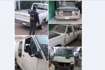 La policía secuestró dos vehículos oficiales de Estancia Grande que estaban en una FM local