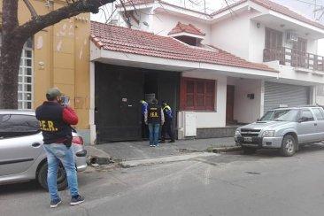 Allanan una vivienda lindante a la casa de Teresita Galli