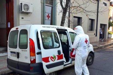 """La filial local de Cruz Roja realizó controles a """"más de 500"""" concordienses que debieron hacer  cuarentena"""