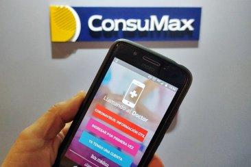 ConsuMax ofrece a sus clientes una aplicación que permite una atención médica al instante