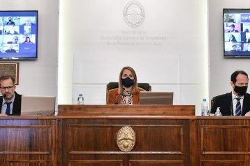 La Cámara de Senadores de la provincia convirtió en ley la Emergencia Solidaria