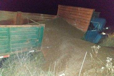 Un desperfecto mecánico habría causado el despiste de un camión en el norte entrerriano